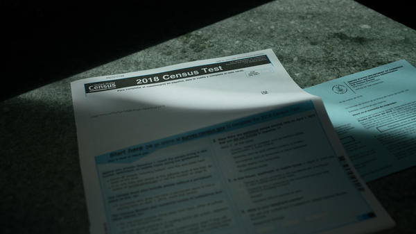 The Justice Department has ended the $61 million contract for 2020 census forms that the U.S. Government Publishing Office awarded to the now-bankrupt printing company Cenveo, which has already produced materials for this year's census test run.