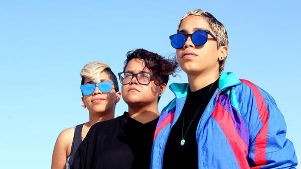 The women of Dominican electronic trio Mula make synth music that synthesizes their acoustic Caribbean musical heritage.
