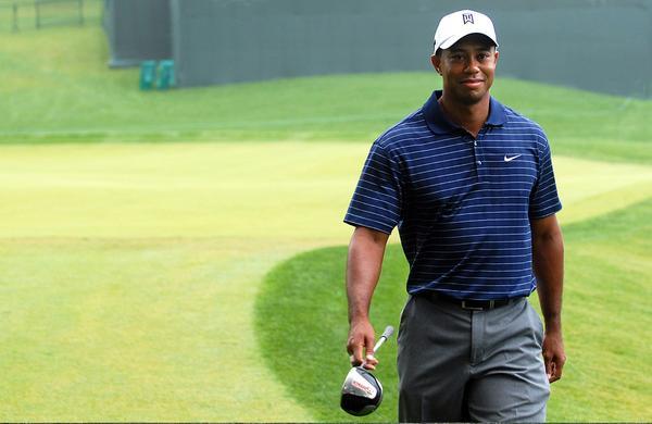 Tiger Woods won eight Bridgestone titles in Akron.
