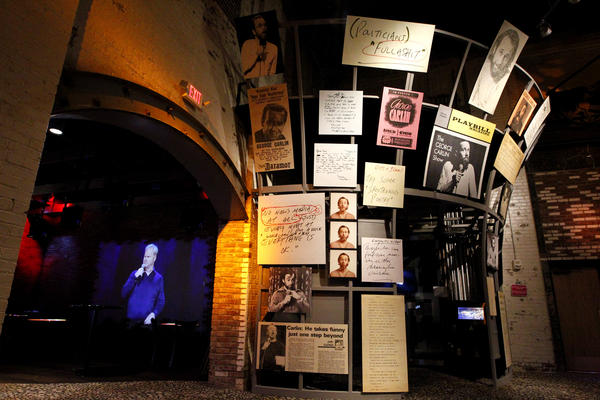 A view of an exhibit at the National Comedy Center in Jamestown, N.Y. (Courtesy National Comedy Center)