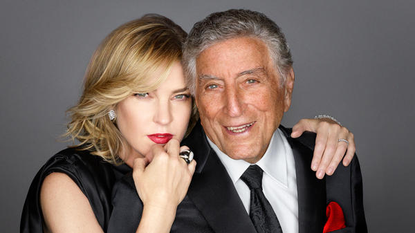 "Diana Krall and Tony Bennett released the song ""Fascinating Rhythm"" ahead of their upcoming album."