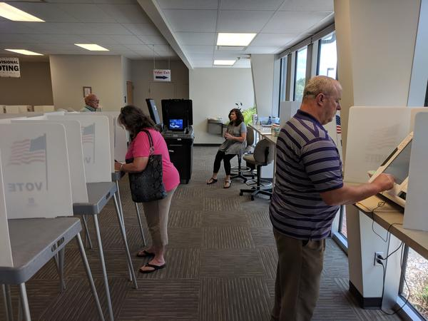 Even as candidates scramble to raise, and spend, campaign dollars, early voting is already underway in the Kansas primary.