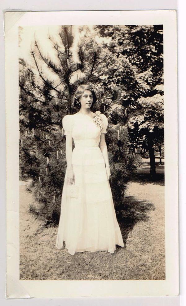 Pattie Anne Watkins, Sarah's grandmother, in 1941. She was 16.