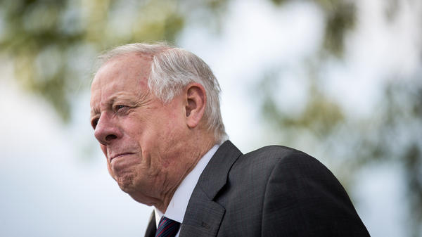 Democratic candidate for Senate and former Tennessee Gov. Phil Bredesen attends a groundbreaking event for a new Tyson Foods chicken processing plant in May in Humboldt, Tenn.
