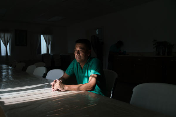 Alejo Rubio-Martinez, 38, is from Hidalgo, Mexico. He has crossed into Texas six times and been deported twice.