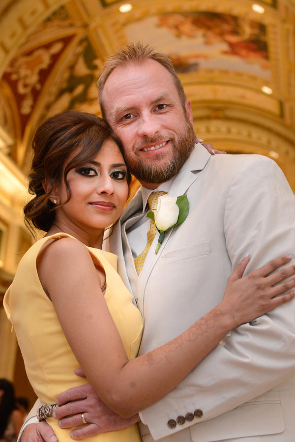 After she returned to the U.S. from Syria, Tania Joya divorced her first husband (not pictured), who is still believed to be in Syria. She went on Match.com, where she met Craig Burma. They married in June and live outside Dallas.