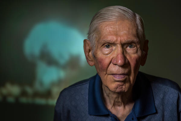 Gackenbach, whose duties included documenting the event with his camera, is the last surviving member of the Hiroshima mission.