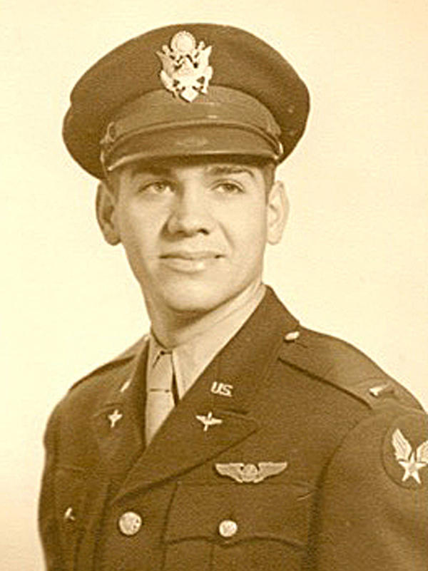Second Lt. Russell Gackenbach was the navigator aboard the Necessary Evil.