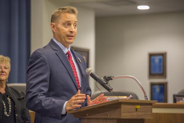 Hillsborough County School Superintendent Jeff Eakins