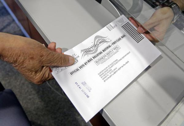 Nearly 2.5 million Florida voters have requested to vote by mail.