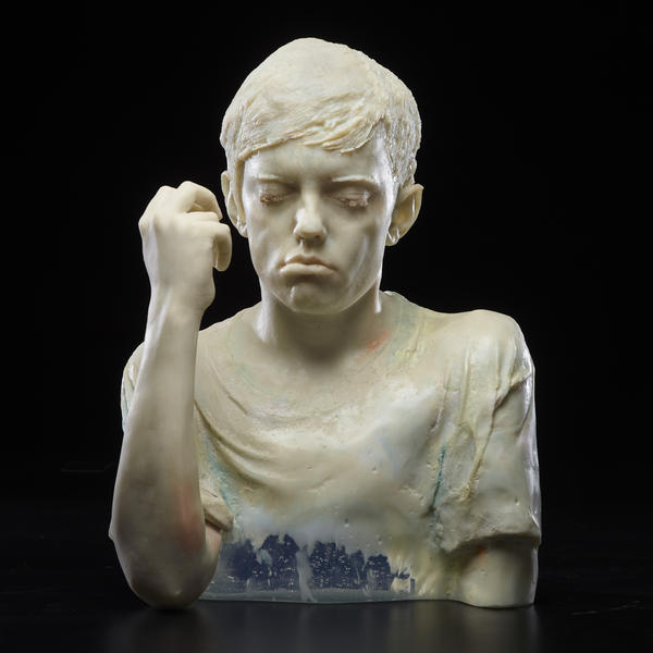 'The Engineer,' one of artist Dean Allison's busts that will be on display at 'Alchemy.'
