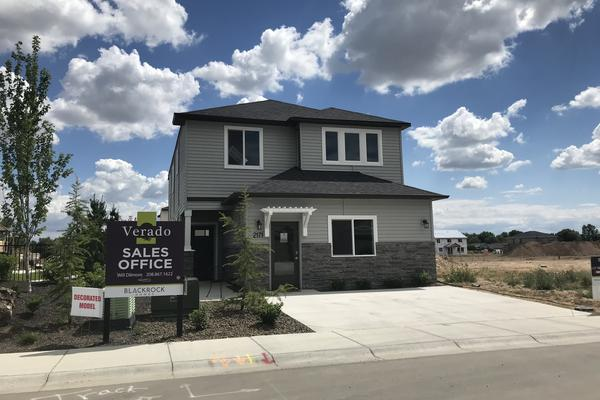 New homes are being built in the suburbs outside Boise, Idaho. The demand for new homes in Boise is nearly 10 times the number that are actually being built.