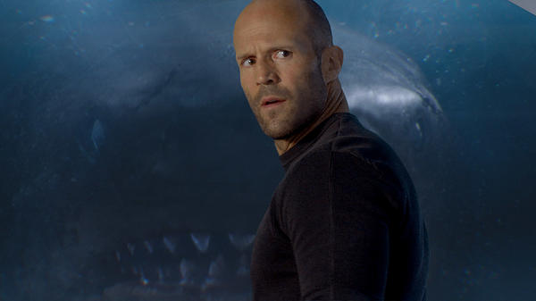 "She Prefers To Be Called ""The Peggy"": Jonas (Jason Statham, obviously) reflects the audience's incredulity in <em>The Meg</em>."