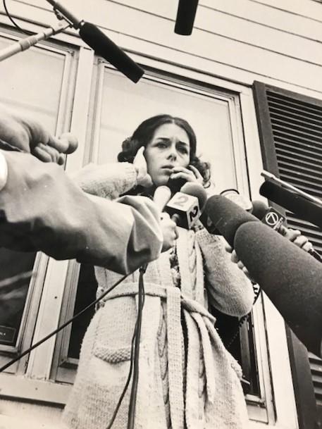 In the media spotlight, circa 1988