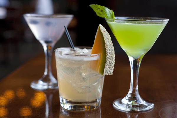 In this Monday, Nov. 19, 2012, file photo, cocktails are photographed in San Francisco. (Eric Risberg/AP)