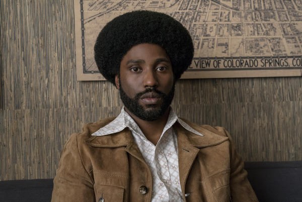John David Washington stars as Ron Stallworth in Spike Lee's <em>BlacKkKlansman.</em>
