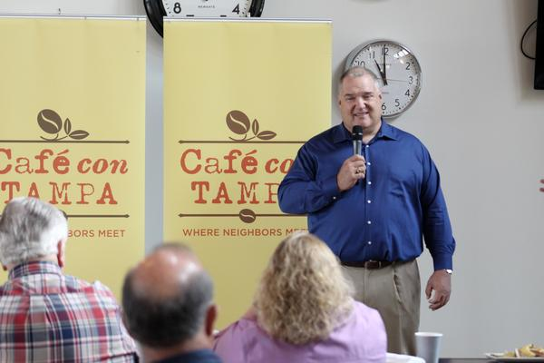 Hillsborough County Property Appraiser Bob Henriquez told the civic group Cafe Con Tampa Friday that many local governments will lose property tax revenue if Amendment 1 passes.