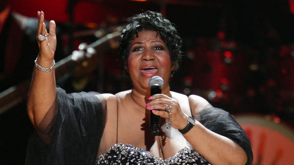 Aretha Franklin performs during the Mandela Day: A Celebration Concert July 2009 in New York City.
