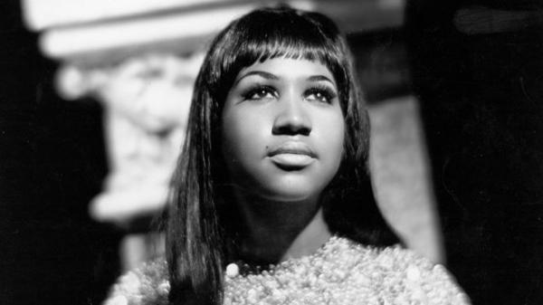 Aretha Franklin poses for a portrait in 1967.
