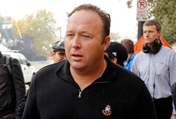Conspiracy theorist Alex Jones has been banned from multiple social media platforms in the past few weeks.