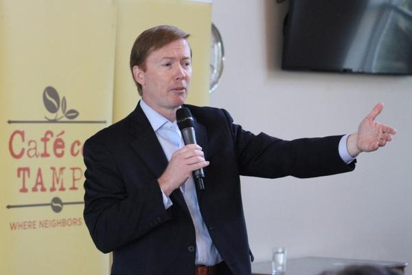 Among straw poll participants in Tampa and Lakeland, Adam Putnam was the most popular gubernatorial candidate.