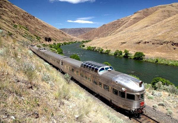 The cars the Cuyahoga Valley Scenic Railroad is adding to its train are from the well-known Amtrak California Zephyr line.