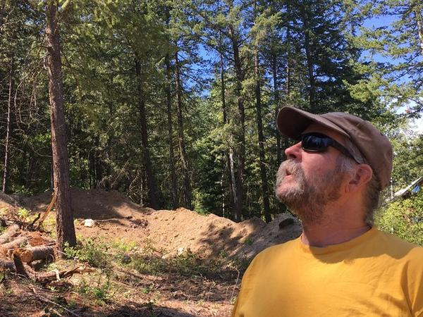 <p>Chris Hopkins built a home in Pine Forest in the 1990s and lived there for more than a decade. He says it's the responsibility of individual property owners to protect their homes from wildfire.</p>