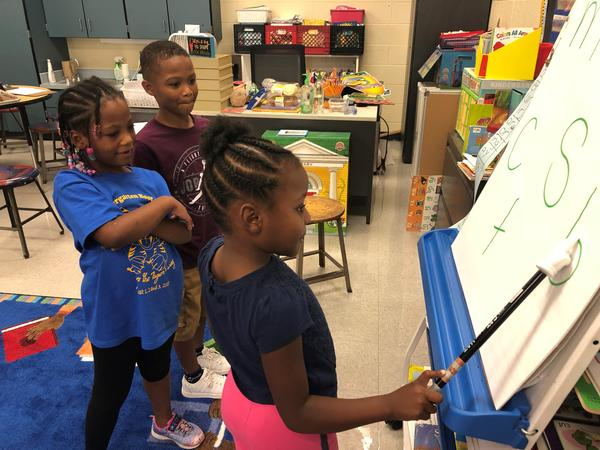 Wendell Phillips Elementary in the Kansas City Public Schools hosted its first kindergarten camp this year.