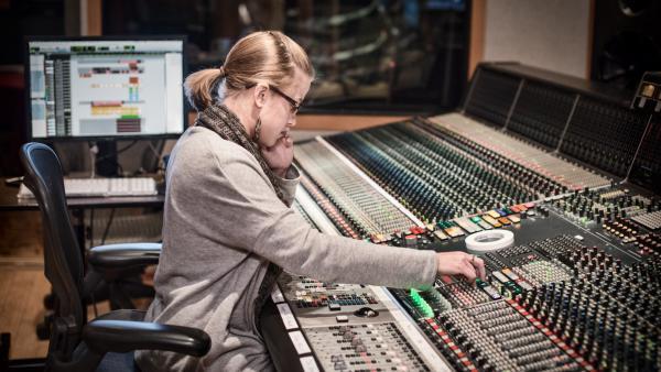 Vanessa Parr inside Studio B at Village Studios in Los Angeles.