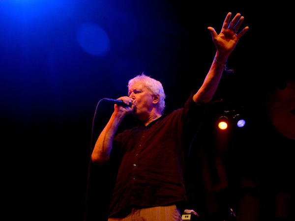 Singer Robert Pollard of Guided By Voices performs during the Coachella Valley Music And Arts Festival at the Empire Polo Club on April 14, 2017, in Indio, California.