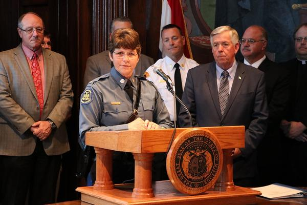 Col. Sandra Karsten will take over on Sept. 1 as director of the Mo. Dept. of Public Safety.