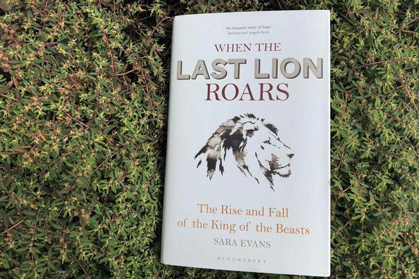 """""""When The Last Lion Roars,"""" by Sara Evans. (Alex Schroeder/On Point)"""