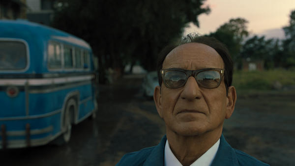 Ben Kingsley stars as former Nazi SS officer Adolf Eichmann, who fled to Argentina after World War II, in <em>Operation Finale</em>.