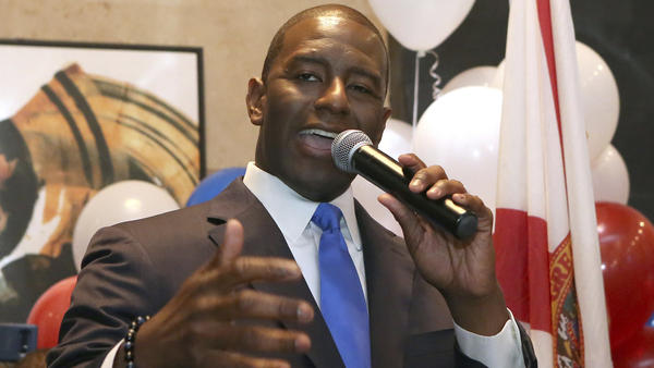 Andrew Gillum would become Florida's first African American governor if elected in November.