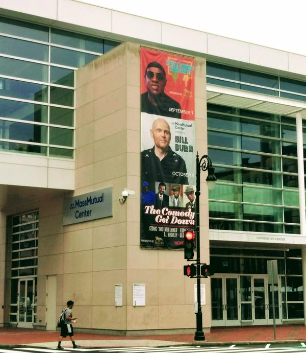 The MassMutual Center in Springfield, Massachusetts, where Stevie Wonder performs September 1, 2018. MGM Springfield said it has other big name performers lined up, hasn't announced names on the par of Stevie Wonder.