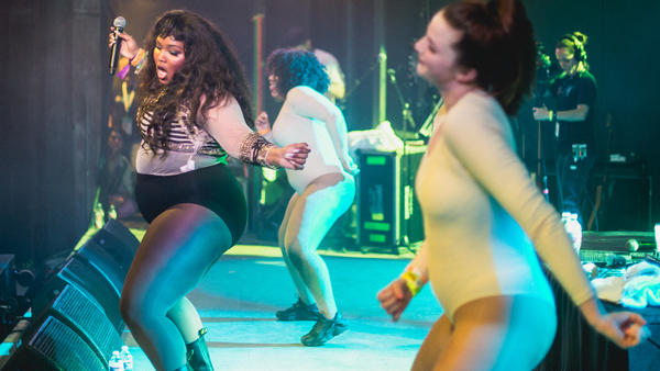 Lizzo performs during NPR Music's 2017 SXSW Showcase at Stubb's.