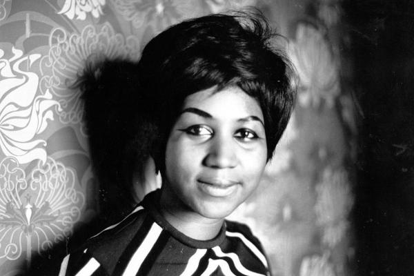 "Aretha Franklin, pictured in 1968, died Thursday. Known as the ""Queen of Soul,"" she recorded 17 Top 10 singles."