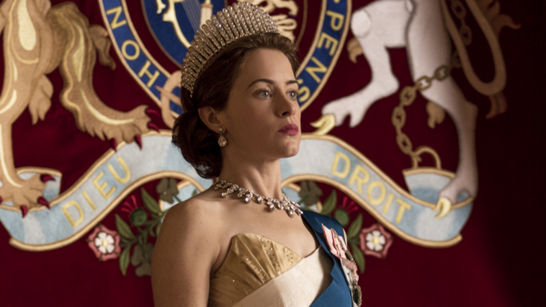 "Claire Foy plays Queen Elizabeth II in the Netflix series <em>The Crown.</em> Series creator Peter Morgan says he believes the queen is ""naturally a shy, retiring person."""