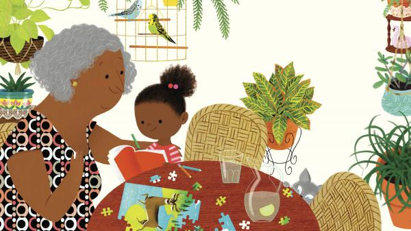In <em>Islandborn, </em>Lola asks her grandmother what she remembers most about the Dominican Republic.