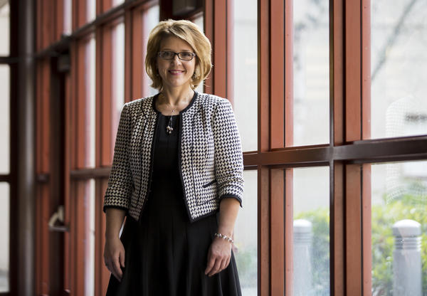 "Amy Morrison Goings, president of the Lake Washington Institute of Technology, says, ""There isn't a day that goes by that a business doesn't contact the college and ask the faculty who's ready to go to work."""