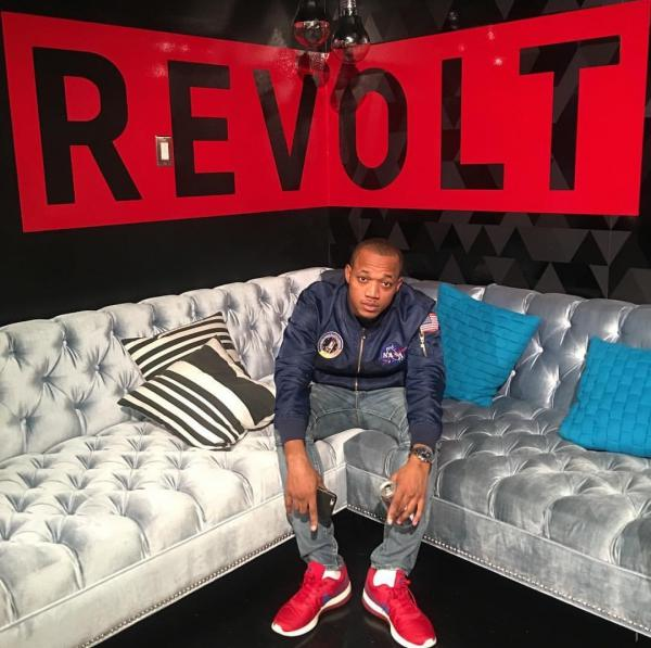 Olutosin Oduwole in 2017, at the Revolt music studio in Los Angeles.
