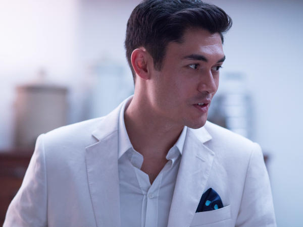 Henry Golding stars as Nick Young in <em>Crazy Rich Asians</em>.