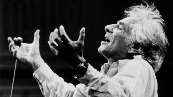 Leonard Bernstein, the conductor.