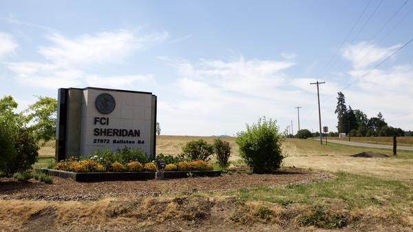 The federal prison in Sheridan, Oregon is one of the five federal prisons ICE said it planned to send up to 1600 immigration detainees. ICE also sent detainees to prisons in California, Washington, Arizona and Texas.