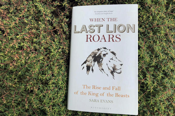 """When The Last Lion Roars,"" by Sara Evans. (Alex Schroeder/On Point)"