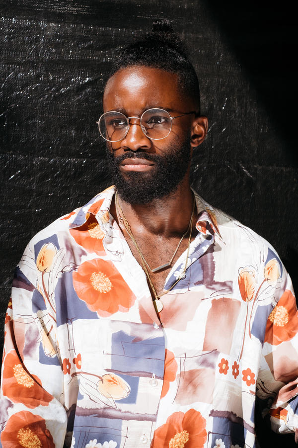 """German fashion stylist Cedric, 29, planned on bringing home his experience at Afropunk Fest Paris 2017. """"I'm so proud of my color and now I am more proud. I am sad it is finished, but every good thing finishes. Now we are going to do this in Germany."""""""
