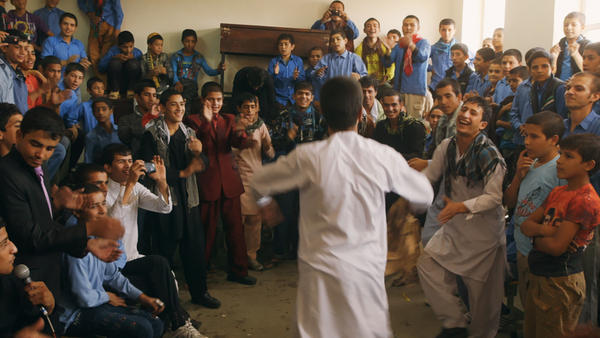 Students and teachers at Kabul's Daqiqi Balkhi School are the subjects of the documentary <em>Angels Are Made of Light.</em>