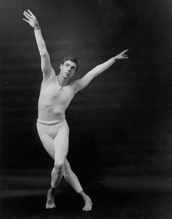 Before retiring from the stage at age 44, Paul Taylor was known as a performer as well as a choreographer.