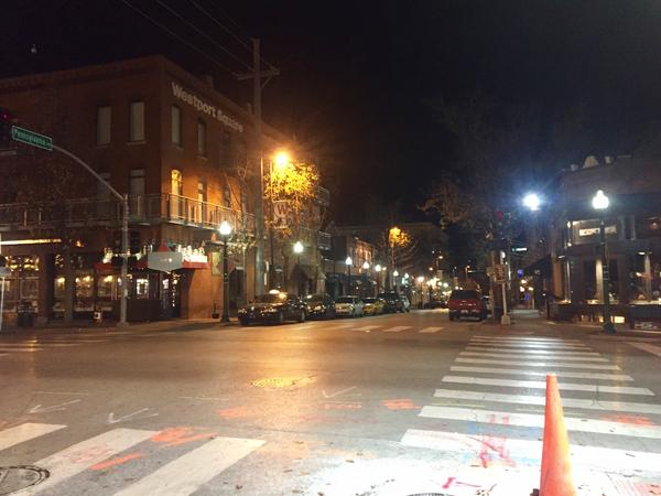 Starting Friday night in Westport, patrons of the popular entertainment district will have to pass through metal detectors to enter.
