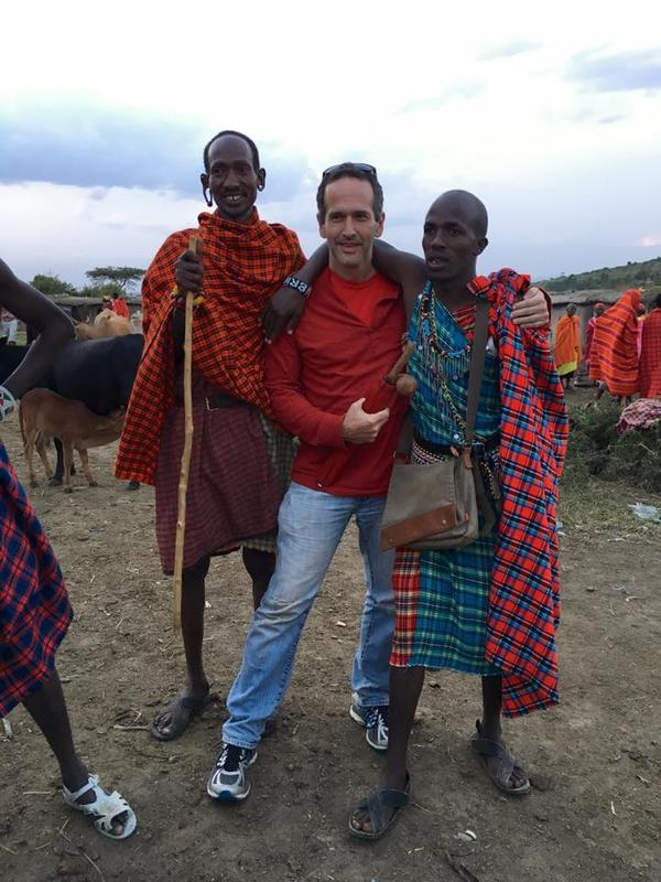 Oncologist Raymond Barfield contributed at a hospital in Kenya.